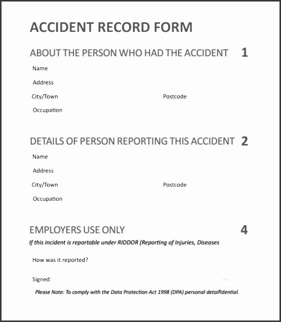 4+ Incident Report Template - SampleTemplatess - SampleTemplatess - what is it incident report