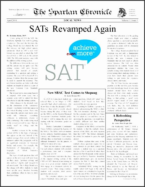 High School Newspaper Template Choice Image - Template Design Ideas