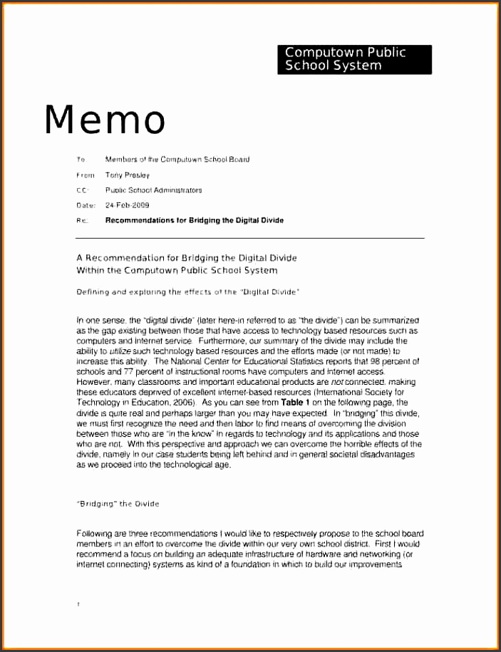 Office Memo Template Sample Legal Memo Sow Template Intended For - board memo templates