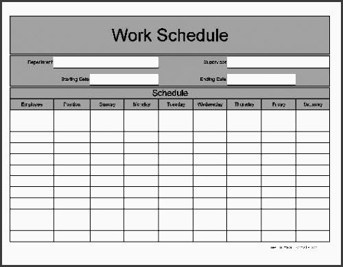 11 One Week Planner for Employees - SampleTemplatess - SampleTemplatess