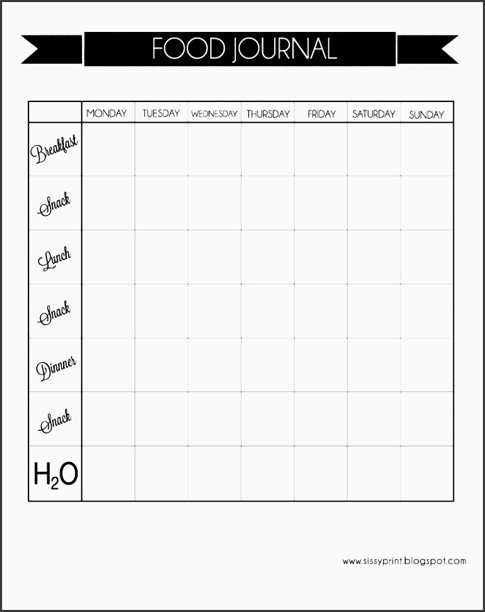 10 One Week Planner Template - SampleTemplatess - SampleTemplatess