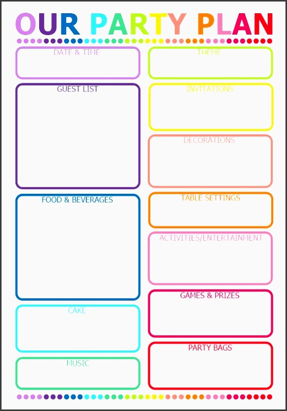 10 Party Planning Checklist Online - SampleTemplatess - SampleTemplatess