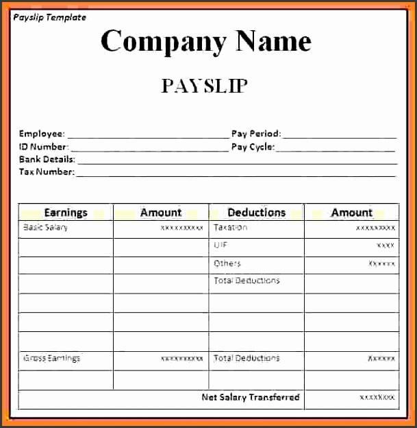 8 Payslip Templates - SampleTemplatess - SampleTemplatess