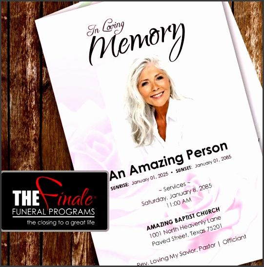 11 Printable Funeral Program Template - SampleTemplatess - printable funeral program templates