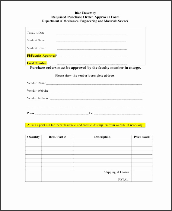 product order form template word - Romeolandinez - purchase order template word