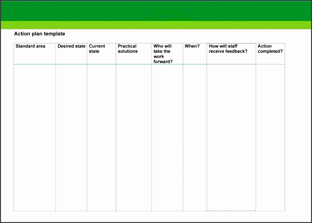 Business Action Plan Template 12 Free Sample Example Format - free action plan template word