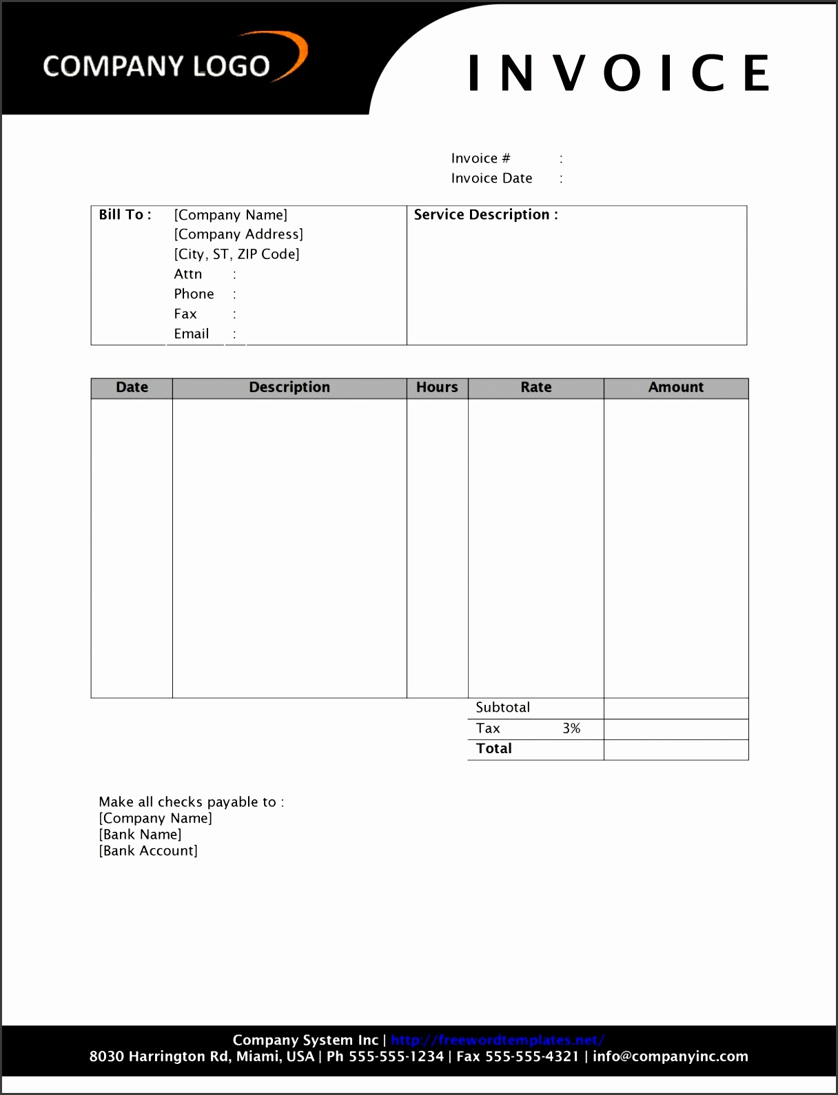 sign in sheet template doc
