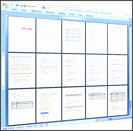 Old Fashioned Software User Guide Template Component - Best Resume - software manual template
