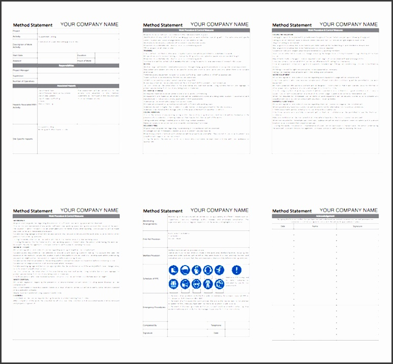 7 Statement Of Work Editable - SampleTemplatess - SampleTemplatess