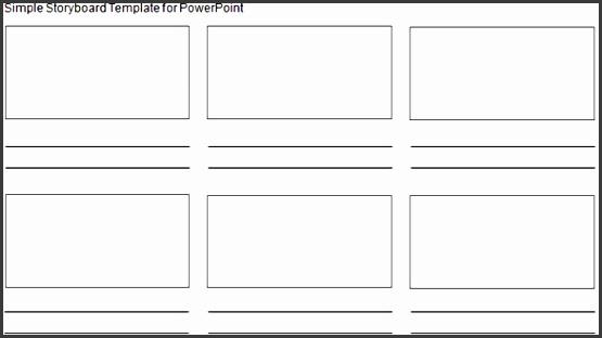 6 Storyboard Template In Word Sampletemplatess