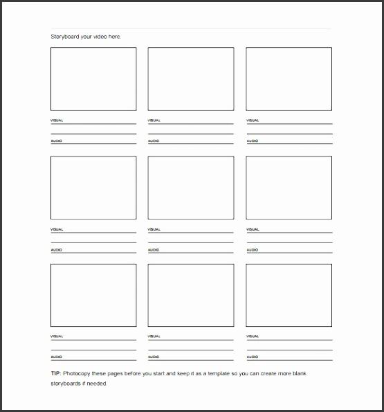 7+ Storyboard Templates - SampleTemplatess - SampleTemplatess