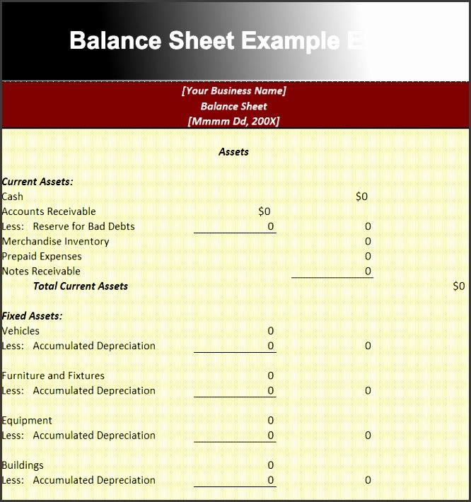 balance sheet format excel sheet free download - Akbakatadhin