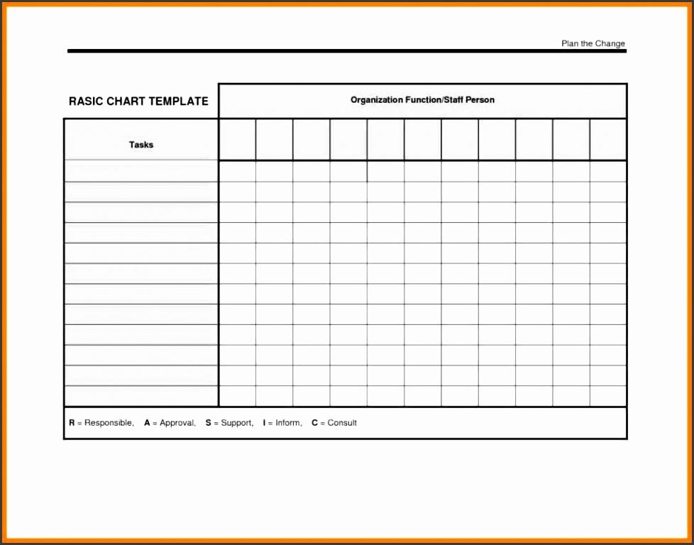 5 Blank Chart Templates - SampleTemplatess - SampleTemplatess
