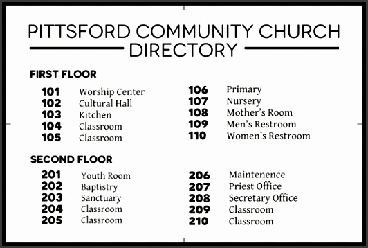 8 Church Directory Template - SampleTemplatess - SampleTemplatess - office phone directory template