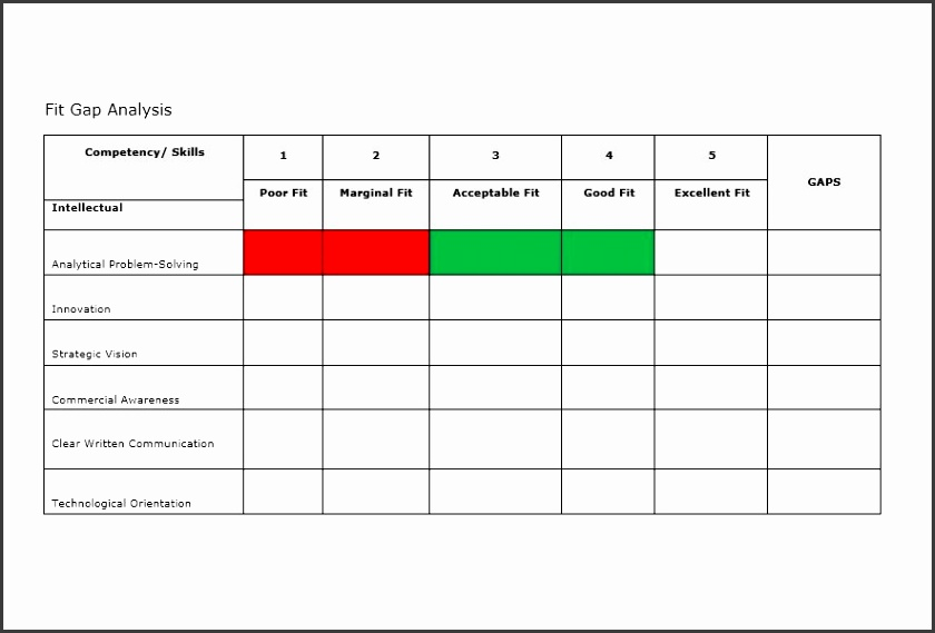 6 Competitive Analysis Template Excel - SampleTemplatess - competitive analysis template
