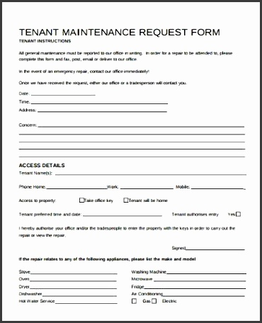 Service Request Form Template wwwpicturesso