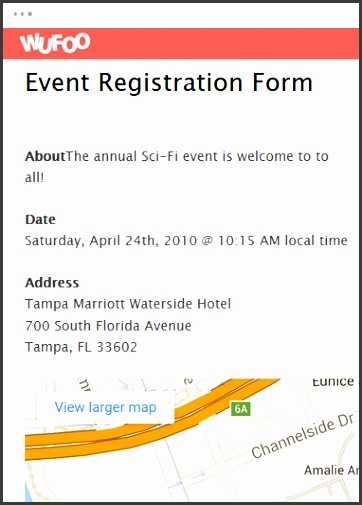 Event Registration Form Template Word - Fiveoutsiders - event registration form template word