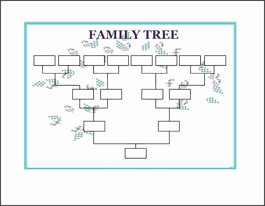 Family Tree Word Template Image Collections Template Design Ideas