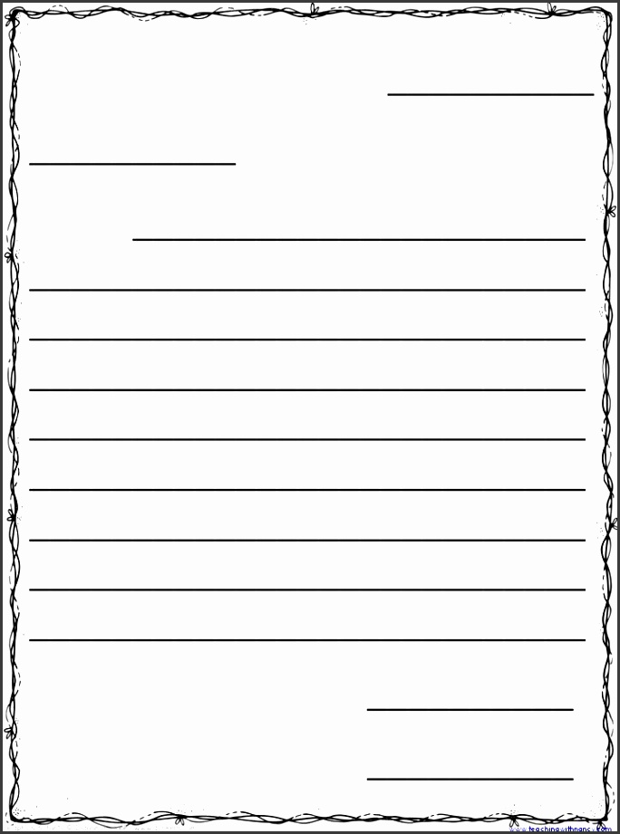 free friendly letter templates