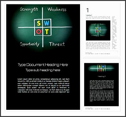 8 Microsoft Swot Analysis Template - SampleTemplatess - SampleTemplatess - microsoft swot analysis template