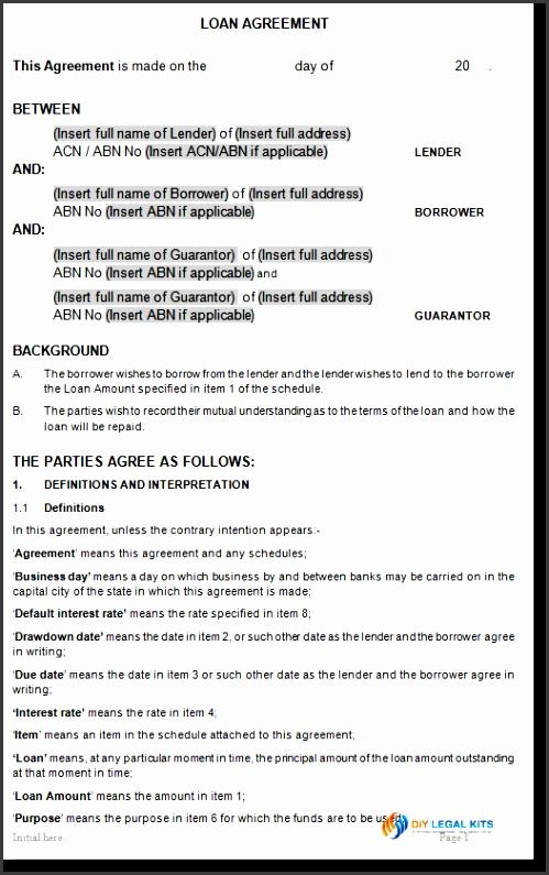 7 Money Loan Agreement Template - SampleTemplatess - SampleTemplatess