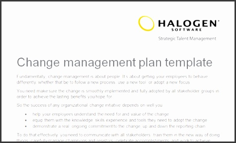 7 organizational Change Management Plan Template - SampleTemplatess - Change Management Plan