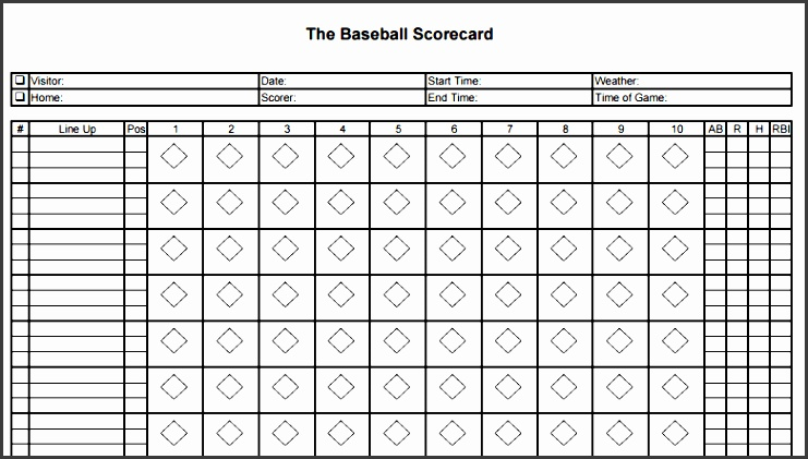 baseball scorecard - Intoanysearch - printable baseball score sheet with pitch count