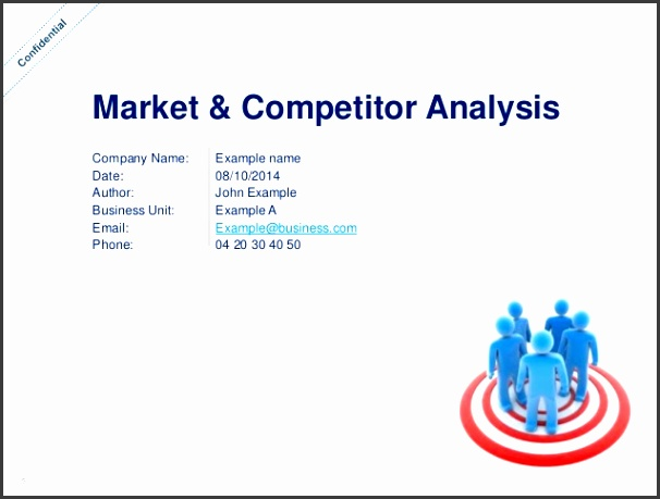 sample competitive analysis template - Kubreeuforic