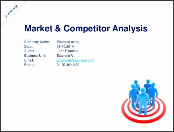 sample competitive analysis template - Romeolandinez