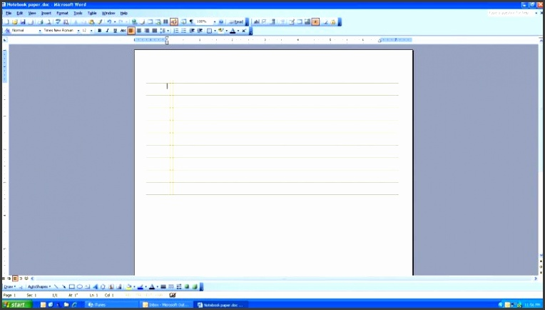 6 Word Notebook Template - SampleTemplatess - SampleTemplatess