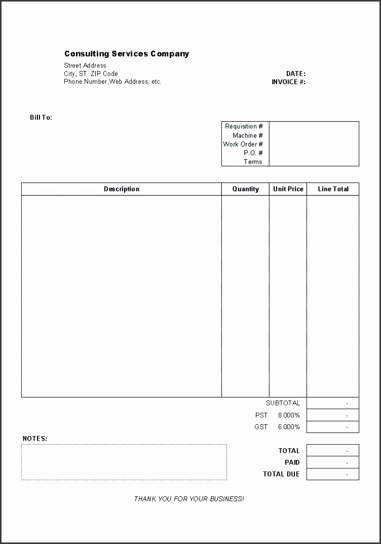 free invoice template word