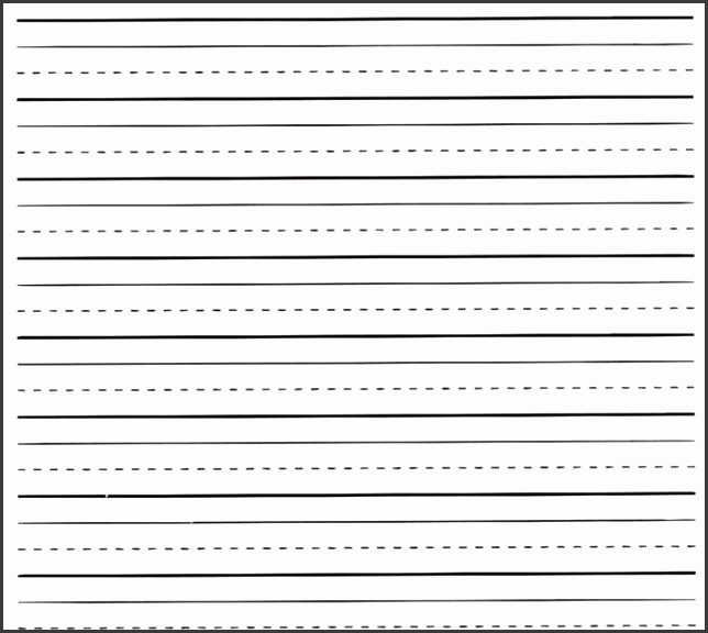 10 Lined Paper Template for Kids - SampleTemplatess - SampleTemplatess - printing paper template