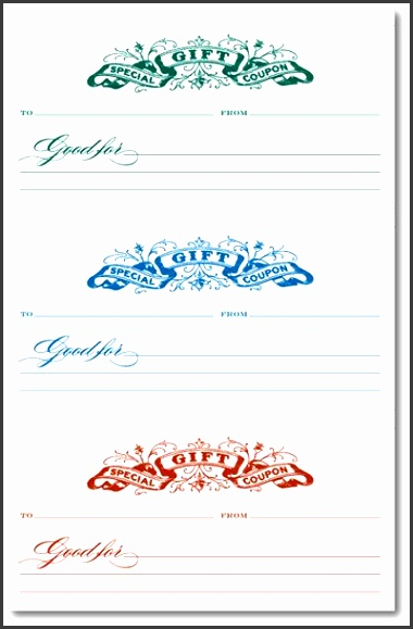 9 Make Your Own Gift Voucher Template - SampleTemplatess - make your own gift voucher template