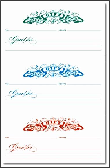 9 Make Your Own Gift Voucher Template - SampleTemplatess