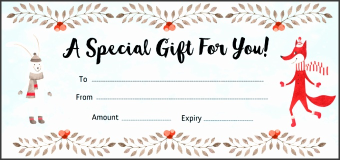 9 Make Your Own Gift Voucher Template - SampleTemplatess - make your own voucher
