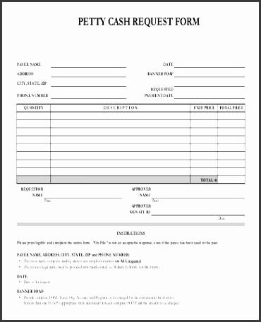 7 Petty Cash Requisition Template - SampleTemplatess - SampleTemplatess