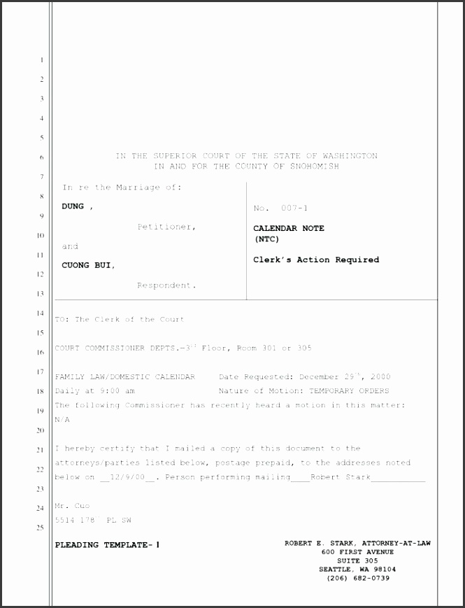7 Pleading Paper Template Word - SampleTemplatess - SampleTemplatess