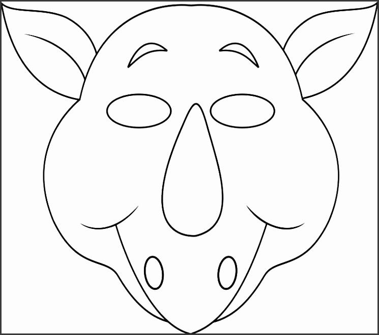 printable animal masks templates - Towerssconstruction