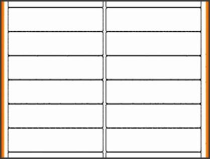 10 Quill Label Templates Word - SampleTemplatess - SampleTemplatess