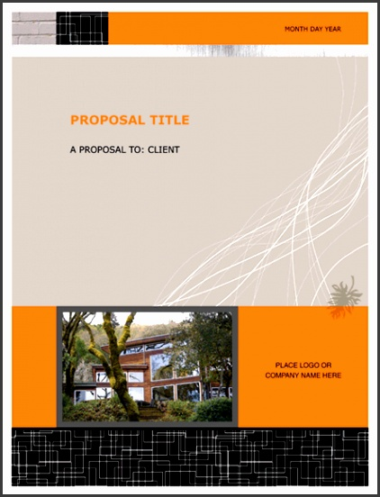 7 Real Estate Proposal Template - SampleTemplatess - SampleTemplatess