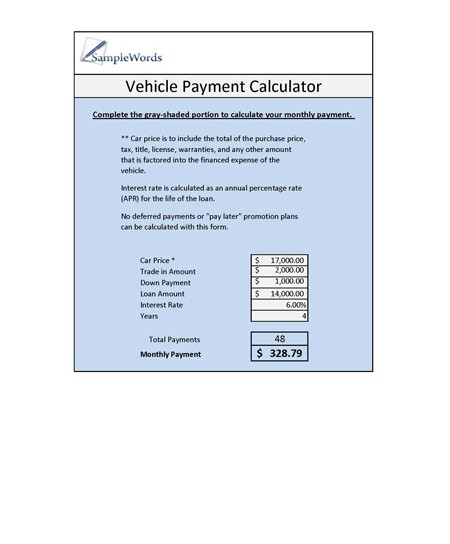 Mortgage \ Loan Forms \ Worksheets - mortgage payment calculator template
