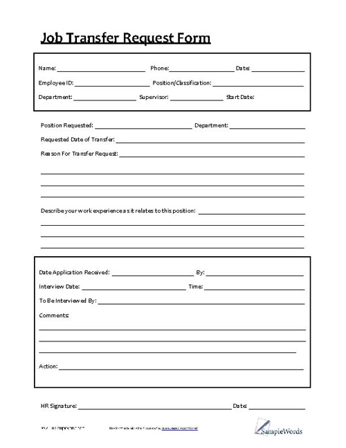 Personnel Forms - HR Forms for Download