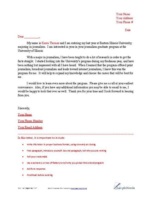 Letter of Intent Sample - loi sample letter