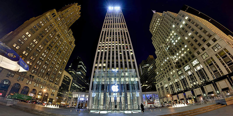 5th Avenue Apple Store :: Manhattan  :: 360° Panorama