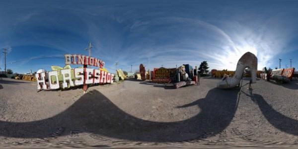 Neon Graveyard 3, Las Vegas, Nevada - 360°