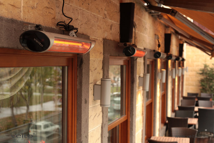 Veito Heating Solutions Veito Carbon Infrared Heaters