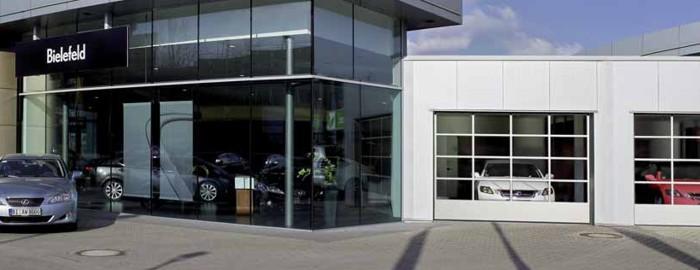 Hormann asp40 industrial doors from samson doors online uk