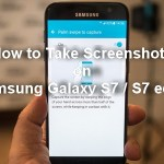 How to Take Screenshots on Samsung Galaxy S7 and S7 Edge