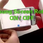 How to Turn Screen Rotation ON / OFF Samsung Galaxy S6 edge plus