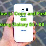 How to Copy and Paste on Samsung Galaxy S6 / S6 edge